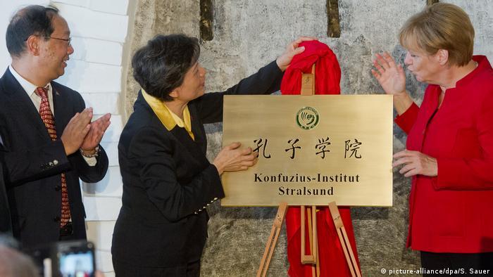 Deutschland Konfuzius-Institut | Stralsund (picture-alliance/dpa/S. Sauer)