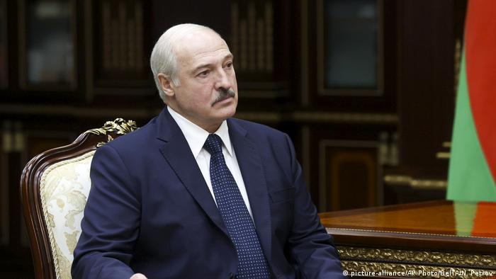 Belarus Präsident Lukaschenko (picture-alliance/AP Photo/BelTA/N. Petrov)