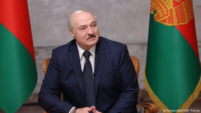 Belarus Präsident Lukaschenko (Reuters/BelTA/N. Petrov)