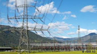 Strommasten - Stromleitungen (Quelle ABB AG)