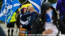 Schottland Unabhängigkeitsreferendum | Marsch in Glasgow