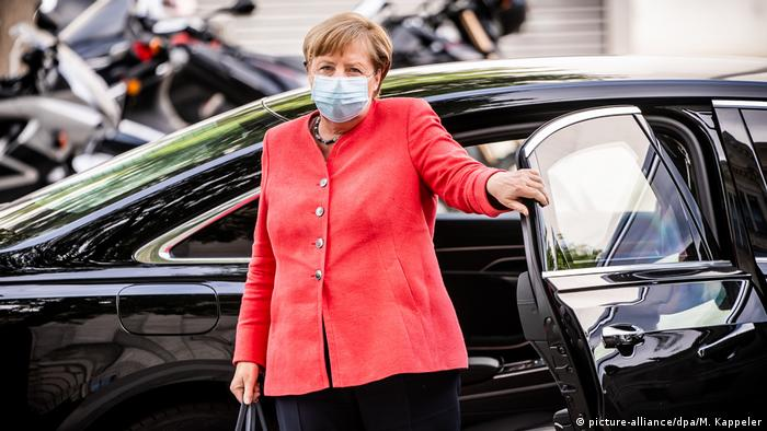 Berlin | Angela Merkel (picture-alliance/dpa/M. Kappeler)