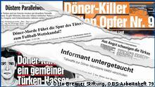 Deutschland Illustration zum Thema NSU Morde
