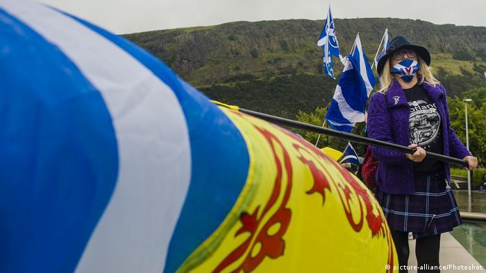 U Edinburgu se povremeno održavaju demonstracije za nezavisnost