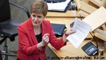 Schottland Ministerin Nicola Sturgeon