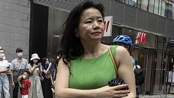 Cheng Lei, a Chinese-born Australian journalist for CGTN