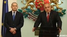 Bulgarien Boiko Borissov, Premierminister & Rumen Radev, Präsident