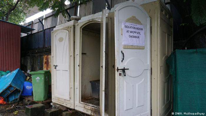 Separate washrooms for isolated workers