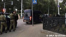 Belarus Frauen protestieren in Minsk