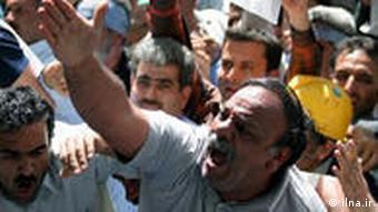 Arbeiter im Iran
