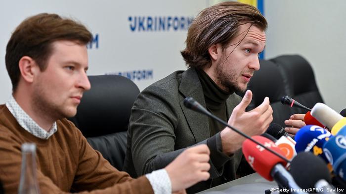 Ukraine Kiew |Belarus-Opposition |