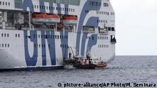 Italien Corona-Pandemie | Migranten werden von Lampedusa verlegt