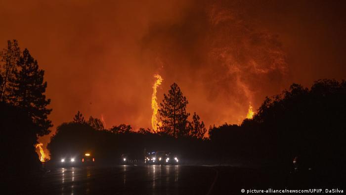 Incendios forestales en California, San Francisco.