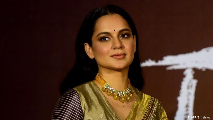 Indien Bollywood Schauspielerin Kangana Ranaut