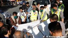 Afghanistan Kabul Verletzte nach Bombenexplosion