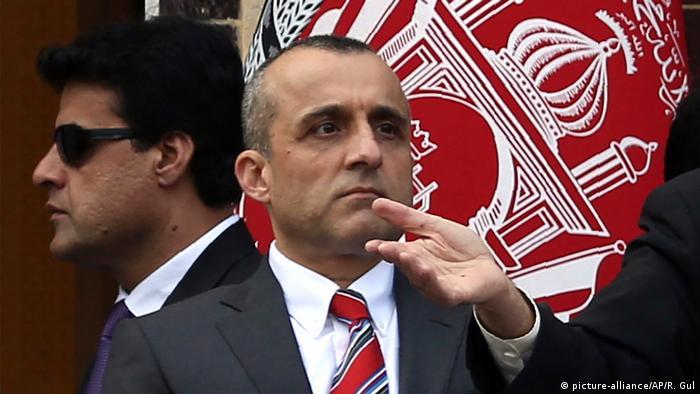 Afghanistan Vize-Präsident Amrullah Saleh