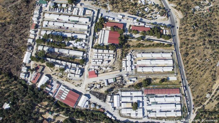 Griechenland Insel Lesbos | Moria Flüchtlingslager (Imago Images/Zuma/N. Economou)