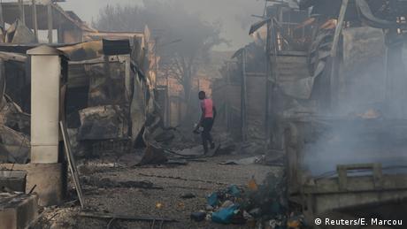 Καίγεται η Μόρια - Εκκένωση του καταυλισμού γράφει το Focus στη διαδικτυακή του σελίδα.