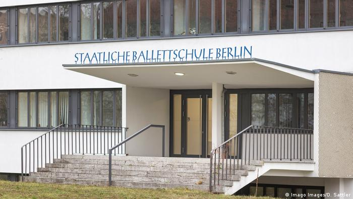 The Berlin State Ballet School (SBB) entrance (Imago Images/D. Sattler)