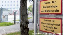 Deutschland München | Vergiftungsfall Nawalny: Institut für Pharmakologie und Toxikologie der Bundeswehr