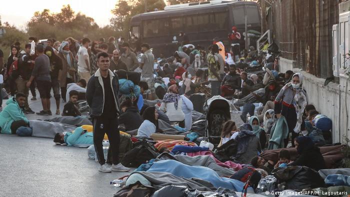 Binlerce kişinin evsiz kaldığı belirtiliyor