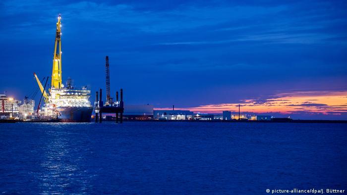 Budowa Nord Stream 2 na Bałtyku