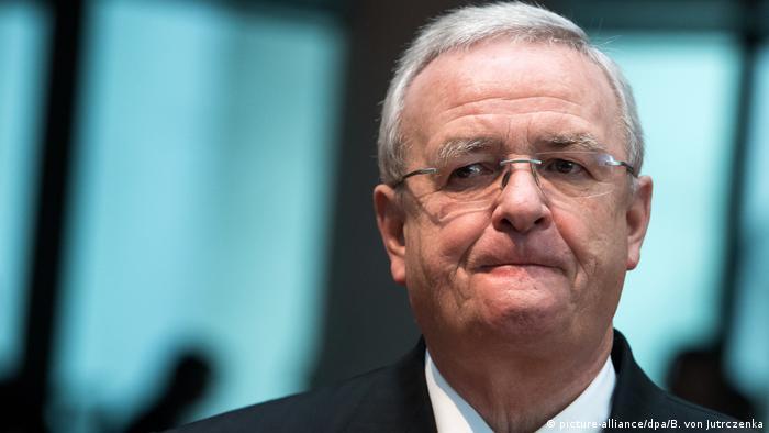 Deutschland Anklage gegen Ex-VW-Chef Winterkorn