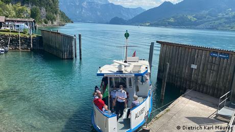 Schweiz Kursschiff Murg-Au-Quinten