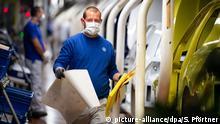 Deutschland Wolfsburg | Autoindustrie & Corona |Volkswagen