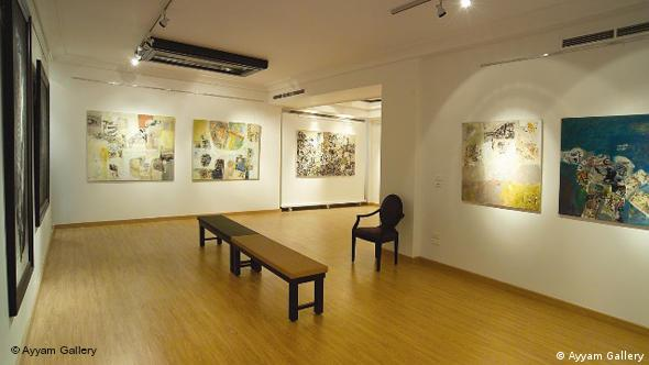 The Ayyam Gallery in Damascus, Syria