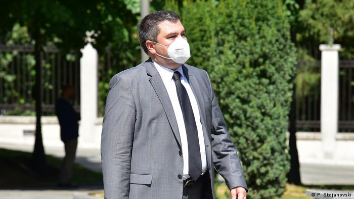 Bojan Maricic - Justizminister von Nord-Mazedonien (P. Stojanovski)