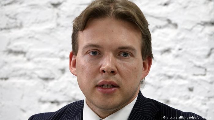 Der Anwalt Maxim Snak wurde zu zehn Jahren Haft verurteilt (Archivbild)