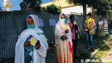 Äthiopien Tigray   Wahlen   Stimmabgabe