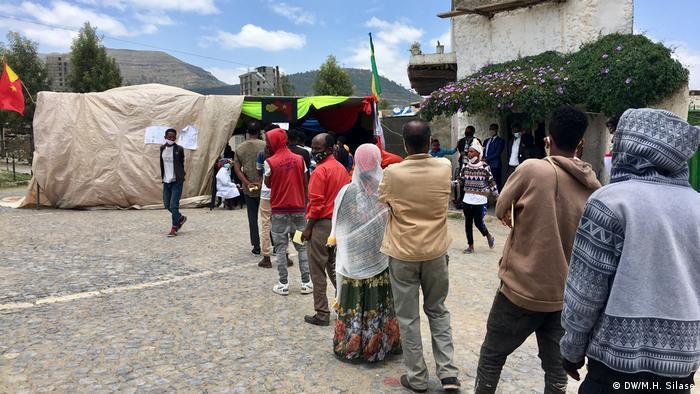 Äthiopien Tigray | Wahlen | Stimmabgabe