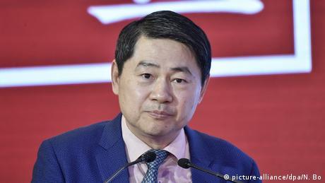 China Peking | Wang Huiyao Gründer des China and Globalization (CCG) (picture-alliance/dpa/N. Bo)