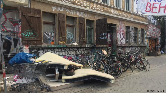 Germany Leipzig   Aftermath of the riots