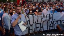 Nordmazedonien | Proteste | Partei-Chef Hristijan Mickoski