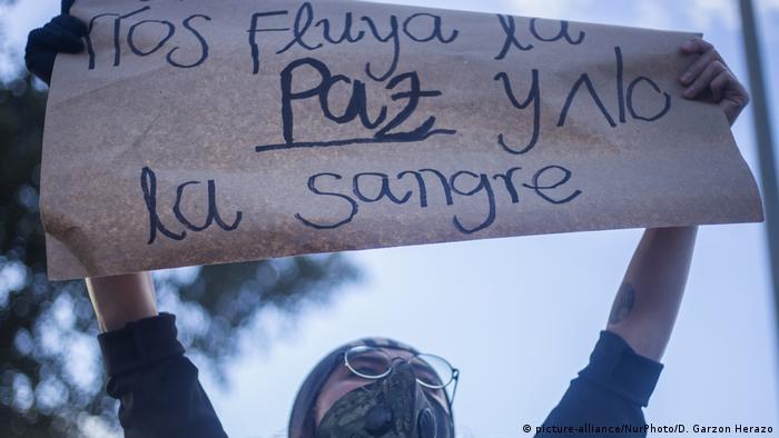 Bogota I Proteste in Kolumbien