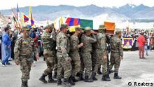 Tibet China Indien Beerdigung Nyima Tenzin