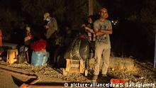 Griechenland Lesbos | Lager Moria neue Brände