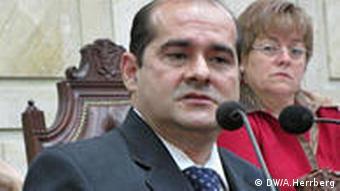 Luíz Gonzales, Direktor der Abteilung der Staatsanwaltschaft 'Gerechtigkeit und Frieden' (Foto: Herrberg)