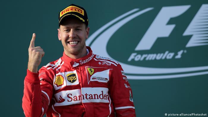 Formel 1 2017 - Großer Preis von Australien   Sebastian Vettel