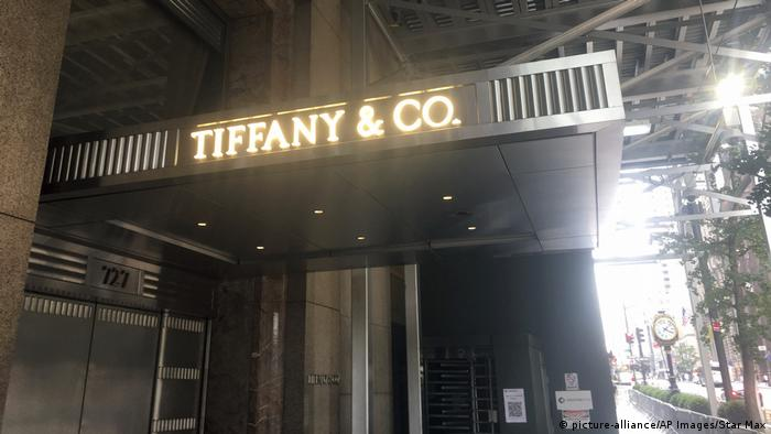 Tiffany & Co.'s store in New York City is currently being renovated