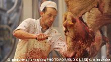 Frankreich Schlachthof Bordeaux - Schlachten für islamisches Opferfest
