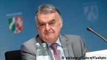Aktuell, Duesseldorf, 17.08.2020, NRW Innenminister Herbert Reul im Portrait bei seiner Vorstellung des Lagebildes zur Clankriminalitaet | Verwendung weltweit