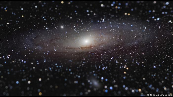 Das Bild des Franzosen Nicolas Lefaudeux zeigt die über zwei Millionen Lichtjahre entfernte Andromeda-Galaxie.