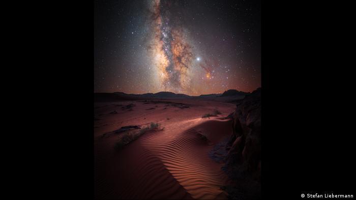 Зоряне небо над пустелею