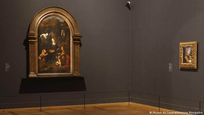Felsgrottenmadonna von Leonardo da Vinci (Musee du Louvre/Antoine Mongodin)
