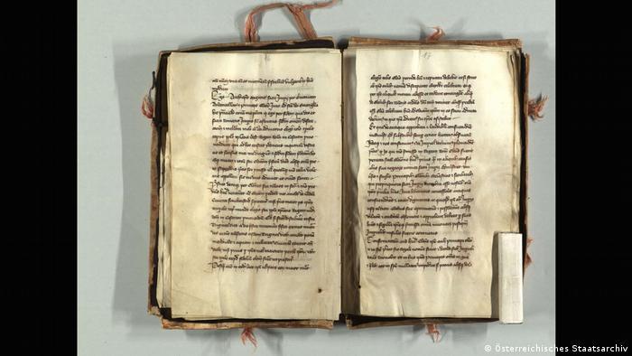 An ancient book: The Golden Bull of 1356