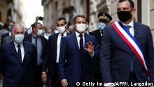 Frankreich, Korsika I Präsident Emmanuel Macron